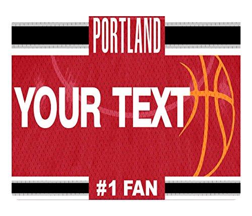 - BleuReign(TM) Personalized Custom Name Basketball Portand License Plate Square Refrigerator Fridge Magnet