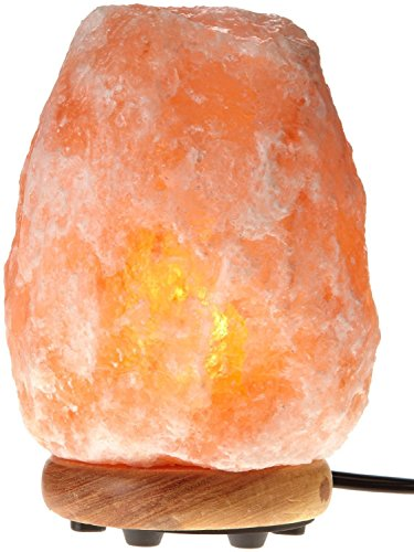 WBM Himalayan Glow Hand Carved Natural Crystal Himalayan Salt Lamp With Genuine...