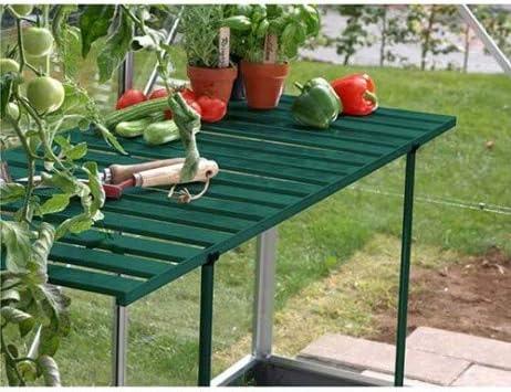 lams - Mesa abatible para Invernadero de jardín: Amazon.es: Jardín