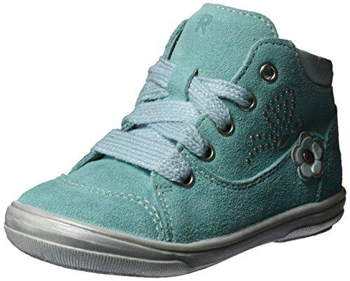 S Bébé jade Chaussures Richter Dandi Marche Turquoise silver Fille fqxIg5w0B