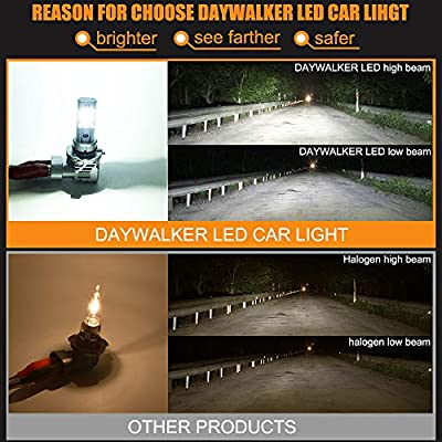 9005 LED Headlight Bulbs High Beam 1:1 Design HB3 Headlamp 10000 Lumens 6500K White Extremely Bright LED Car Headlights: Automotive