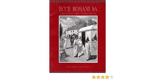 ecce romani 1 language activity book answer key
