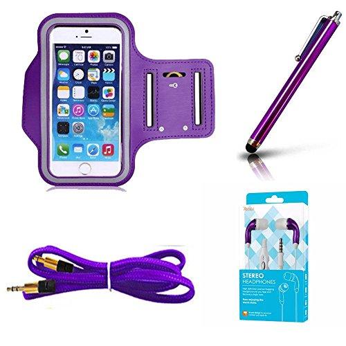 Buy purple earphone galaxy