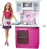 Barbie Doll and Kitchen Furniture Set