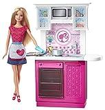 Barbie Kitchen Playset Barbie Doll and Kitchen Furniture Set