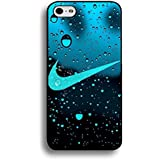 Water Droplets Background Nike Phone Case Cover for Iphone 6/6s 4.7 (Inch)