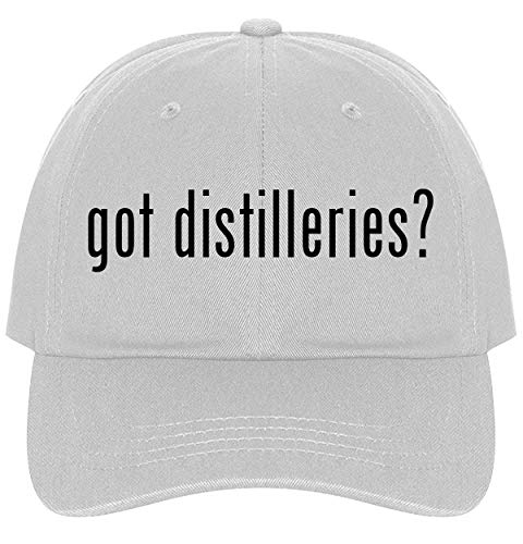 The Town Butler got Distilleries? - A Nice Comfortable Adjustable Dad Hat Cap, White