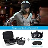Oculus Quest Case JSVER Hard Carrying Case for