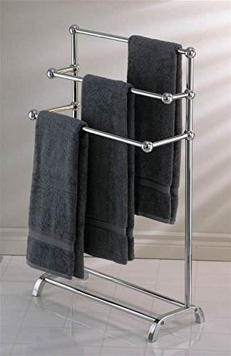 Towel Rack Taymor - Taymor Deluxe Three Tier Towel Valet