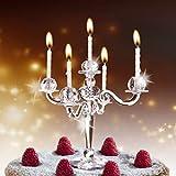 Kuchen Mit 9 Kerzen Kerzenleuchter Kerzenstander Cake Candelabra