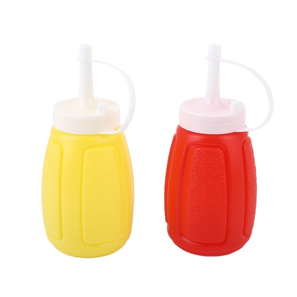 BigFamily 1PC plastica salsa di aceto bottiglia olio 200ml ketchup Squeeze Mustard dispenser per cucina utili