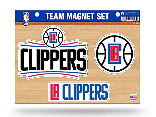 Rico Industries, Inc. Los Angeles Clippers Multi Die Cut Magnet Sheet Auto Home - Los Rico Clippers Angeles