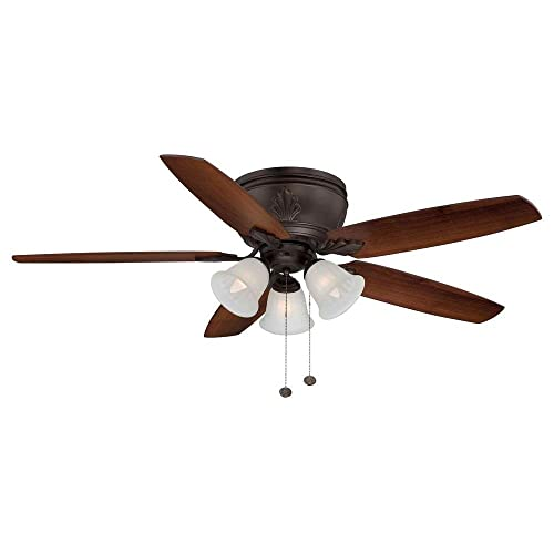 Emerson Ceiling Fans B79CH 31-Inch Solid Wood Indoor-Outdoor Ceiling Fan Blades, Chocolate, Damp Location, Set of 5 Blades