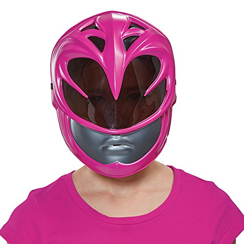 Disguise Pink Power Ranger Movie Mask, One Size ()