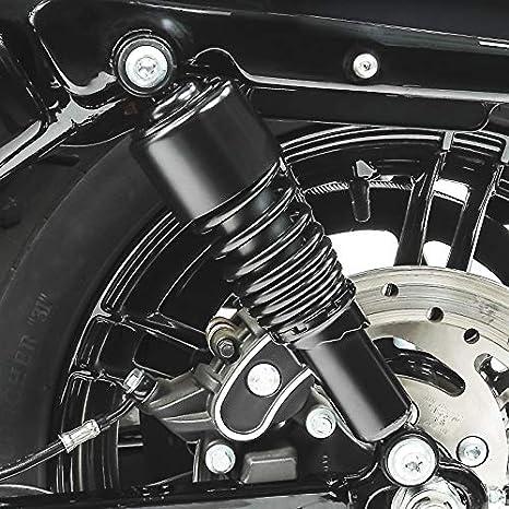 Amortisseur 10,5 pour Yamaha XV 125 Virago rabaissement Noir