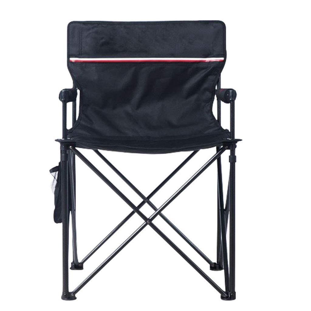 KAI LE Klappstuhl im Freien Portable Stuhl, Balkon Freizeit Sitz Computer Stuhl