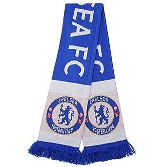 Fu/ßball Team Chelsea FC Farben Badge Fans Fashion Zubeh/ör Geschenk Schal