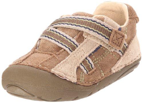 Stride Rite SRT SM Rico Sneaker (Infant/Toddler),Taupe/Sandstone,3.5 W US Toddler