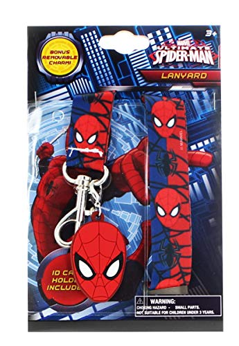 SPIDER-MAN LANYARD AND BADGE HOLDER