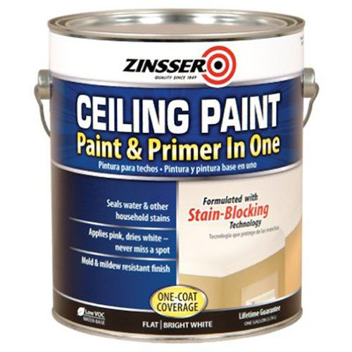 Spray Ceiling (RUST-OLEUM  260967  Ceiling Paint-Gallon)
