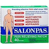 Salonpas Pain Relief Patch - 40 Ea