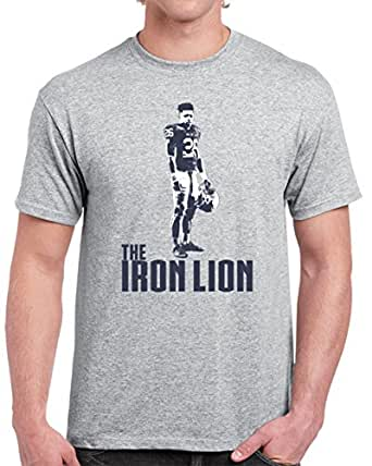 Cool saquon barkley the iron lion football penn state t for Cool football t shirts