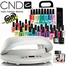CND Complete Color Wardrobe (26 pcs) + CND LED Lamp + CND Offly Fast Shellac Removal Kit