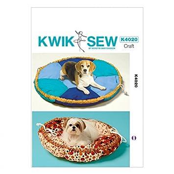 Kwik Sew Homeware Schnittmuster 4020 Hundebett in 2 Größen + GRATIS ...