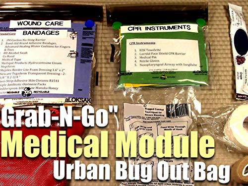 Medical Module - ''Grab-N-Go'' - Urban Bug Out Bag Version 3.0