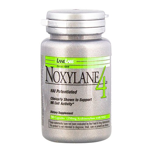 Lane Labs - Noxylane4, Supports Immune Protection, Supports Peak NK Cell Activity and T and B Cell Defense* (50 Capsules)