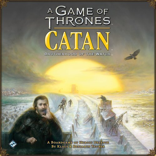 Fantasy Flight Games a Game of Thrones Catan: Brotherhood of the Watch Strategy Board by Fantasy Flight Games