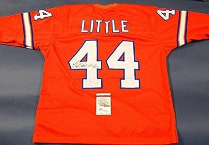 aa40be3bb Floyd Little Signed Jersey - Hof - JSA Certified - Autographed NFL ...