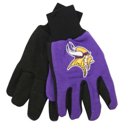 Minnesota Glove Vikings (NFL Team Logo Grip Gloves - Minnesota Vikings)