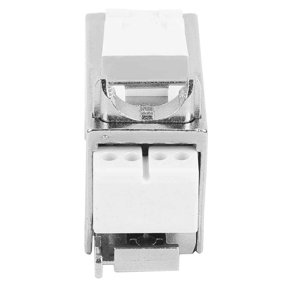 RJ45//8P8C Network 90 Degree Gigabit No Punch Down Tool Shielded Information Module with a Dust Cover Fafeicy CAT7 Module