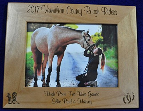 - Horse Picture Frame ~ Horse ~ Custom Picture Frame ~ Picture Frame ~ Horse Lover Gift ~ Pet Frame ~ Frames ~ Western Frame ~