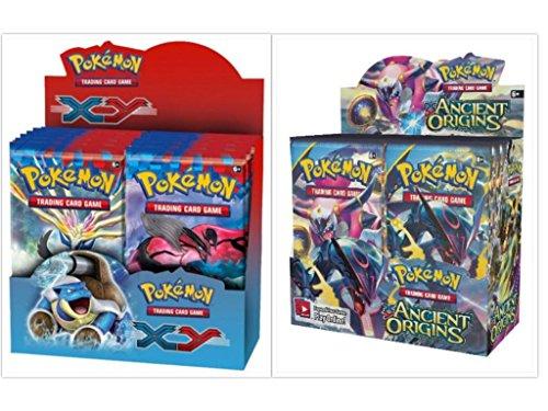 Pokemon Trading Card Game XY Base Set Booster Box and Ancient Origins Booster Box Bundle, 1 of (Deck Pokemon Base)