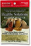 Healthy Solutions Spice Blends Herb Crusted Tilapia