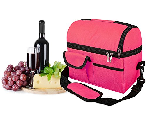 Lunch Bags for Women/men,Reusable Insulated Tote Single shoulder Lunch Cooler Bag Hand bags for Women/kid/Adults Use for Work,School,Picnic,party,On The Go by Mor.Chen.Tay