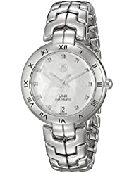 TAG Heuer Womens WAT2311.BA0956 Link Analog Display Swiss Automatic Silver Watch