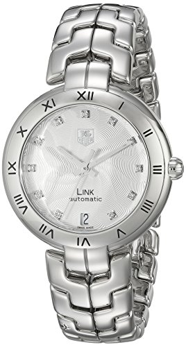 TAG Heuer Women's WAT2311.BA0956 Link Analog Display Swiss Automatic Silver Watch