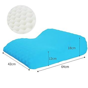 Amazon.com: Almohada de cuña para reflujo ácido, almohada de ...