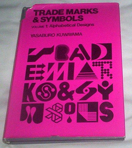 Alphabetical Designs (Trade Marks and Symbols): Yasaburo Kuwayama ...