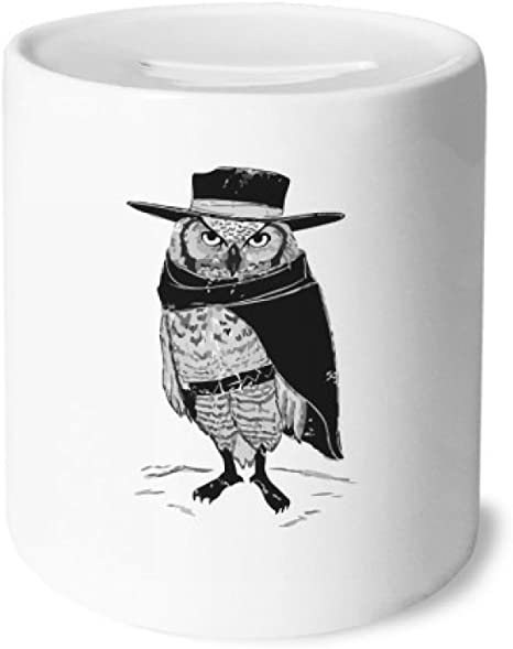 DIYthinker Personificación del pájaro del búho Animales Caja de Dinero de Las Cajas de ahorros de cerámica Adultos Moneda de la Caja para niños: Amazon.es: Juguetes y juegos