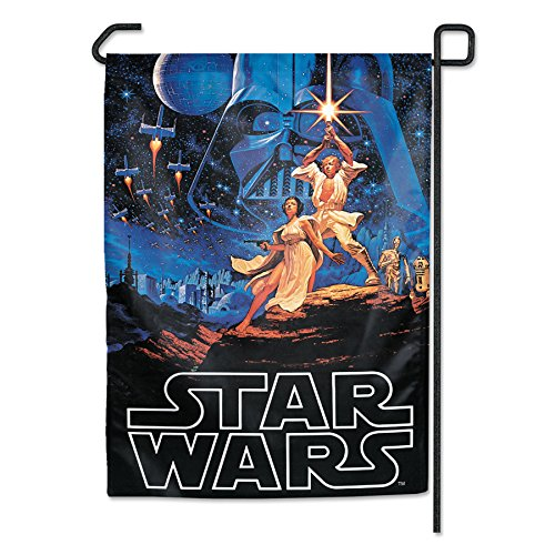 "WinCraft 68188126 Star Wars Garden Flag 2-Sided, Multi, 12"" x 18"""