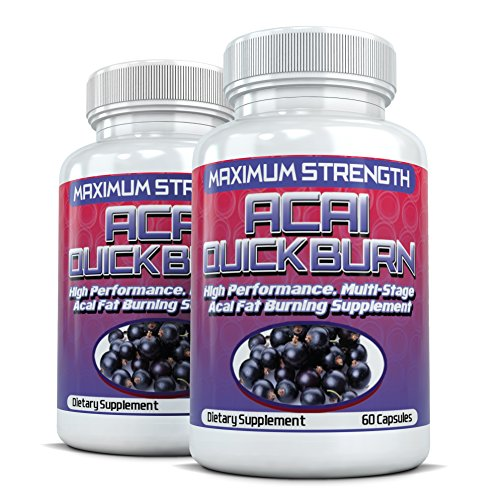 Acai Quick Burn  High Performance Multi-Stage Fat Burner wit