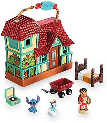 Disney Oficial Lilo & Stitch Micro Playset con sonido: Amazon.es ...