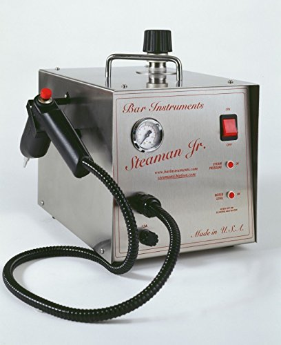 Bar Steaman Jr Steam Cleaner 1 Liter, Dental and Jewelry Cleaner Made In USA NEW
