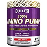 Messerschmied Nutrition 100% Amino Pump Muscle Building Formula, Fruit Punch, 9.3 Ounce