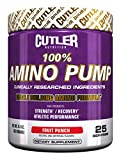 Cutler Nutrition 100% Amino Pump Muscle Building Formula, Fruit Punch, 9.3 Ounce Review