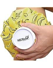 Neotech Care - Ispåse - för skador, svullnad, huvudvärk, smärtlindring - första hjälpen - kylpåse med skruvlock - återanvändbar, påfyllningsbar, flexibel och vattentät påse/säck stil